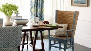 coastal dining room. Blue Always Works In A Beach House Because It Relates Well To The Ocean. Seascapes Coastal Dining Room L