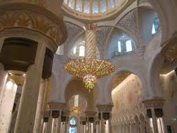 abu dhabi sheikh zayed grand mosque grand mosque united arab emirates middle chandeliers