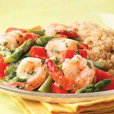 Lemon-Garlic Shrimp & Vegetables Recipe ...