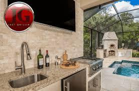 outdoor kitchen design installation just grillin tampa fl backyard kitchens designs medium