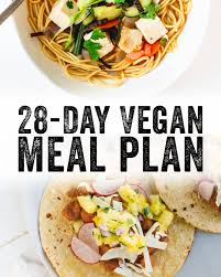 28 Day Vegan Meal Plan A Couple Cooks