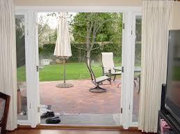 awesome french door patio single french door with curtain and living room glamorous