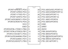 arduino data sheet arduino icsp programming header pinout