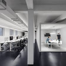 minimalist office design. Dynamos-office-anne-sophie-goneau-minimalist-offices-roundup- Minimalist Office Design .