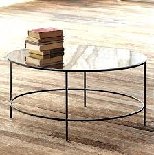 west elm glass coffee table attractive round mirror coffee table top 35 nice pictures round mirrored