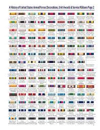 Us Air Force Medals Order Of Precedence Chart 78 Credible Mcjrotc Ribbon Rack Builder