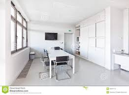 white modern office. Modern Office With White Furniture N