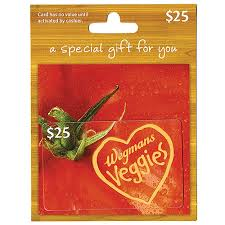 wegmans 25 gift card