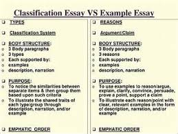 Free Classification Essay Examples Free Classification Essays And