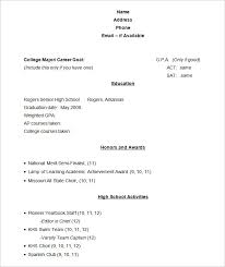 Resume Format For Students Magnificent 48 Student Resume Templates PDF DOC Free Premium Templates