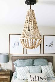 diy lampshade chandelier