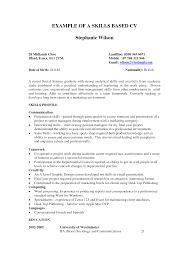 Singular Skills Based Resume Template Word Ideas Microsoft