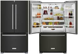 kitchenaid black stainless. black-stainless-kitchenaid-refrigerator kitchenaid black stainless e