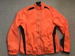 Saucony Light Up Jacket Womens Saucony Vizipro Light Up Orange Running Jacket Size