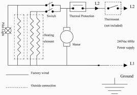 heater wiring diagram v heater image wiring diagram wiring diagram for electric baseboard heater thermostat on heater wiring diagram 240v