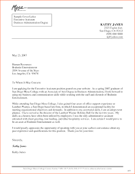 Example Of Cover Letter For Hr Administrator