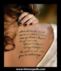 Love Quotes Tattoos For Couples