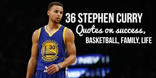 Quotes About Basketball Custom 48 Stephen Curry Quotes On Success Basketball Family Life