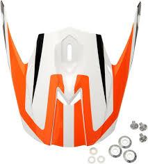 Ruroc Size Chart New Afx Fx 21 Adult Replacement Helmet Top Visor Peak Orange One Size
