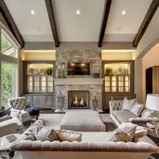 Transitional interior design ideas Transitional Style Inspiration For Transitional Dark Wood Floor And Brown Floor Living Room Remodel In Minneapolis With Houzz 75 Most Popular Transitional Living Room Design Ideas For 2019