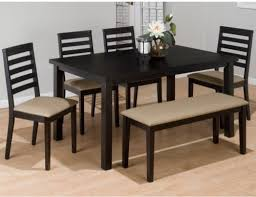 Rectangular Dining Table Set with Bench Modern Dining Tables by