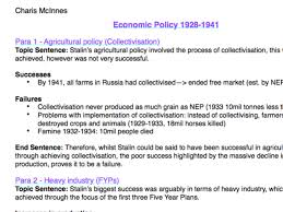 charis mcinnes s shop teaching resources tes history a level russian economic policy 1918 1941 essay plan