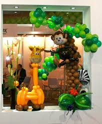 Jungle Theme Decorations The Very Best Balloon Blog Animal Magic Some Great Balloon