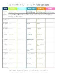 Teacher Daily Schedule Template Free Kindergarten Daily Schedule Elegant Kindergarten Teacher