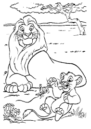 Small Picture Lion King Scar Coloring Pages Circus Lion Walking On Rope