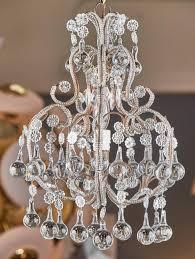 art nouveau antique italian crystal chandelier for