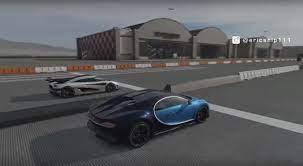 Bugatti chiron, bugatti vision gt vs 1500hp toyota prius drag race. Bugatti Chiron And Koenigsegg One 1 Lock Horns In Virtual Standing Mile Race Autoevolution