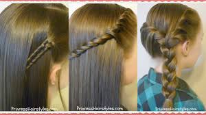 Easy Hairstyles On The Go 3 Easy Back To School Hairstyles Youtube