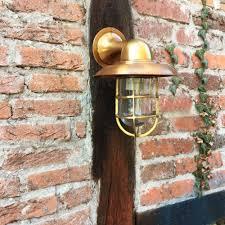 Chique Scheepslamp Lamp Tuinhuis Buitenlamp Voordeur Koper En Handgemaakteu