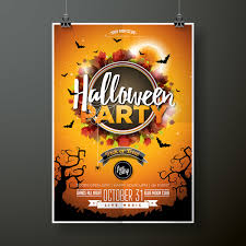 Halloween Dance Flyer Templates Halloween Flyer With Poster Cover Template Vector 03 Free
