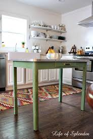 Diy Small Kitchen Table Center Island Movable Renovation Ideas The