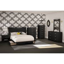 Black wood bed frame Headboard Step One Contemporary Storage Bed Queen Black Beds Bed Frames Best Buy Canada Best Buy Canada Step One Contemporary Storage Bed Queen Black Beds Bed