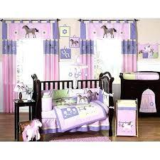 purple babies room purple nursery bedding pony 9 piece crib bedding set purple baby bedding pink