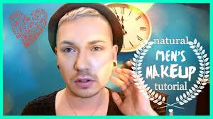 natural mens makeup tutorial mensmakeupmay