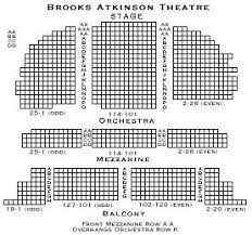 Brooks Atkinson Theatre Seating Chart See Waitress On A Vacation In New York City With Nyctrip Com