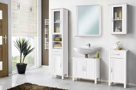 Galdem Garda Badmöbel Set Mit Spiegel Unterschrank Badezimmer Holz