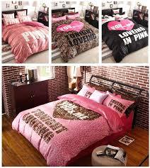 black and pink bedding sets eastern king sheet sets pink and black crib sets