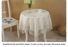 rectangular dining table cover cloth knitted vintage: pcs lot living room tablecloth lace table cloth knitted vintage dining table cover knitting banquet kitchen wedding