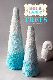 rock candy tree craft