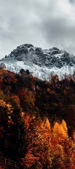 Alps Wallpaper 4K, Autumn, mountains ...