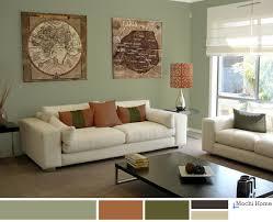 Yellow Sage Living Room