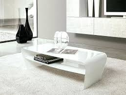 modern white coffee table marble
