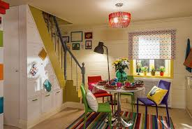 multi colored chairs fashion a cheerful and snazzy dining room from fazenda