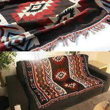 aztec navajo towel sofa throw mat wall