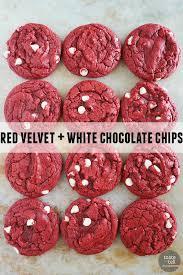 cake mix cookies 12 ways red velvet cake mix white chocolate s