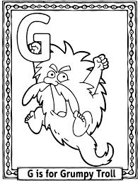 Coloring Contest Grumpy Troll Brew Pub